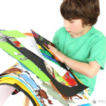 Children's art – choosing what to keep