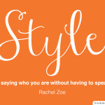 Adding a touch of style