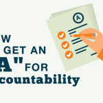 "How to get an ""A"" for Accountability"