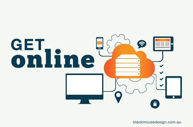 get online