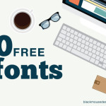 A collection of 10 free fonts for 2015