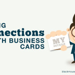 Making connections with business cards