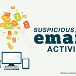 What to do about suspicious email activity?